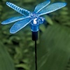 Pixilights Multi Coloured Solar Garden Lights x 2, Solar Dragonfly Lights product image