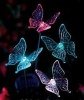 Solar Butterfly Lights, Butterfly Lighting, Set of 2