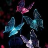 Solar Butterfly Lights, Butterfly Lighting, Set of 2 product image