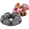 Wilton Dimensions 6 Cavity Mini Hearts Pan, Heart Shaped Cake Pans