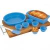 9 Piece Silicone Cookware Set, Silicone Bakeware Set