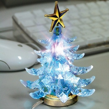 USB Christmas Tree, Illuminating Christmas Tree