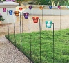 Glass Tealights With Garden Stakes