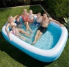 Air Time Giant Family Pool Inflatable 262 x 175 x 50cm