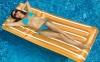 Cool Stripe Pool Lounger, 182 cm, Swimsportz