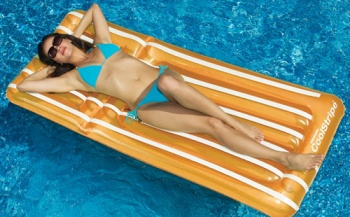 Cool Stripe Pool Lounger, 182 cm, Swimsportz