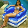 Chair 'N' Chaise Floating Luxury Lounger product image
