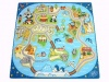 World Foam Puzzle Mat, Kids Foam Floor Mat