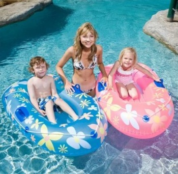 Airtime Inflatable Kids Pool Dingy