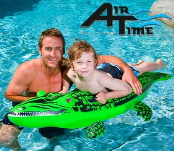 Air Time Kids Crocodile, Crocodile Pool Toy
