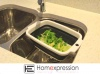 Collapsible Silicone Strainer, Collapsible Strainer