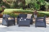 Keter Cofu Rattan Outdoor Setting