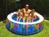 Giant Rainbow Pool 190cm x 50cm, Family Pool