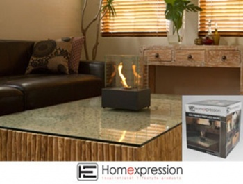 Eco Friendly Fireplace, Square