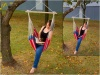 Hanging Hammock Chair, Heavy Duty Canvas