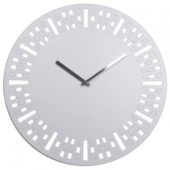 Karlsson Wall Clock, DIY Time Is Changing, White