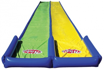Wahu Pool Party Double Mega Slider, Slip and Slide, 8.75m