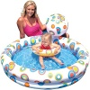 Intex Two ring Pool Set, 3 Piece Pool Set, Inflatable Pool