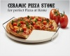 Ceramic Pizza Stone with Stand