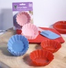 Silicone Cup Cake Moulds 6Pk