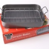 Quality Non Stick Roasting Pan with Chrome Rack product image