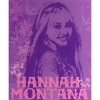 Hannah Montana Fleece Throw 160 x 125cm