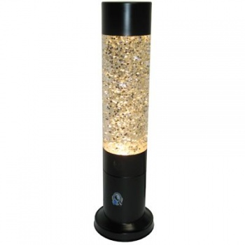 AFL Glitter Lava Lamp, Collingwood Magpies