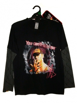 WWE John Cena 'You Can't See Me' T-Shirt, Size 12