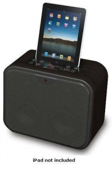 DgTec New iWood5 - Stereo Active Speaker for iPod, iPhone & iPad