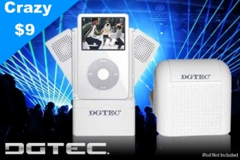 DgTec Portable Mini Speaker with Docking station and Subwoofer-Model