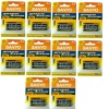 Lot of 10 Packs, Sanyo AA 2 Pack Alkaline Batteries