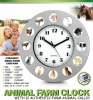 Fun Animal Farm Clock