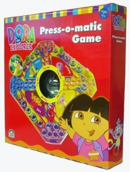 Dora the Explorer Press-O-Matic Game Trouble Board, Crown