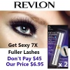 Twin Pack Revlon 3D Extreme Waterproof Mascara product image