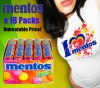 18 Rolls of Mentos Fruit Flavour