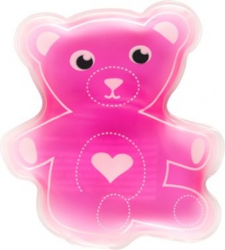 Boo Boo Buddy Kids Cold Pack, Pink Teddy Bear