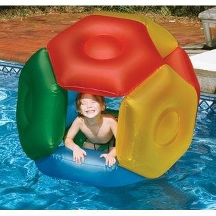 Polyhedron Rolly Pool Toy, Roly Poly