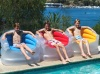 Deluxe Flocked Sofa, Colourful Pool Chairs