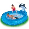 Intex Inflatable Spray N Splash Whale Kiddie Pool