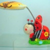Ladybug Night Light With Flexible Lamp Head product image