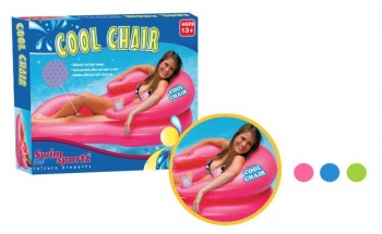 Cool Chair, Relaxing Pool Lounge Chair, Blue
