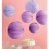 Martha Stewart Purple Accordion Lanterns