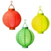 Led Paper Lantern, Set of 3