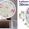 Wall Clock Misty Flower Colour Splash product image
