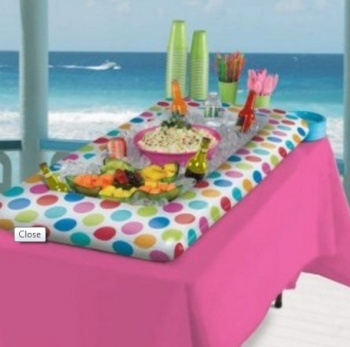 Inflatable and Portable Salad Bar, Buffet Table Top, Cooling Station, Luau Style