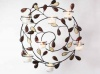 Wall Art Tealight Holder with Gems, 48cm