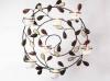 Wall Art Tealight Holder with Gems, 48cm