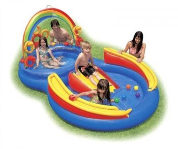 Rainbow Ring Play Centre | In Inflatable Pools