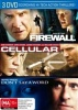Firewall, Cellular, Don't Say A Word DVD Set