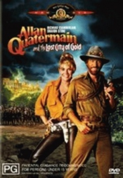 Allan Quatermain and the Lost City of Gold DVD